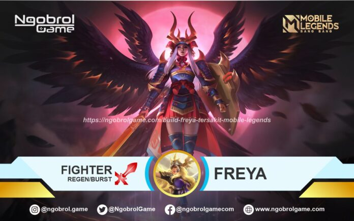 Build Freya Tersakit Mobile Legends