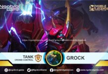 Build Grock Tersakit Mobile Legends