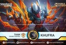 Build Khufra Tersakit Mobile Legends