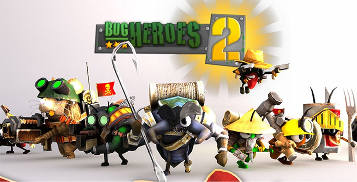 Game Moba Android Bug Heroes 2
