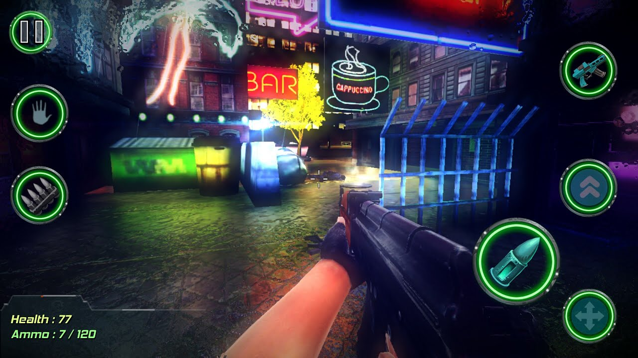 Cyber Retro Punk 2069 Game Android Offline