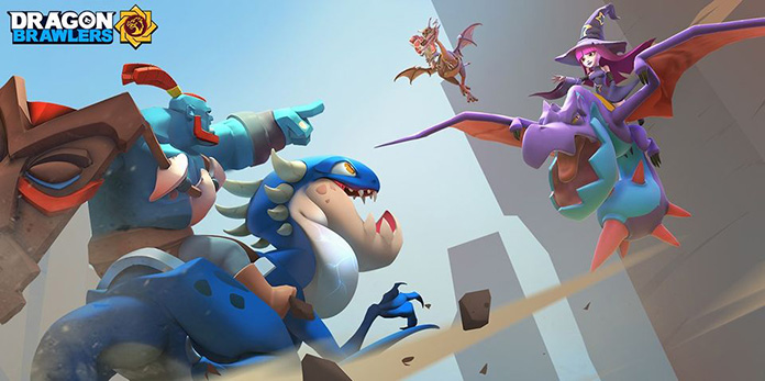 Game Moba Android Dragon Brawlers