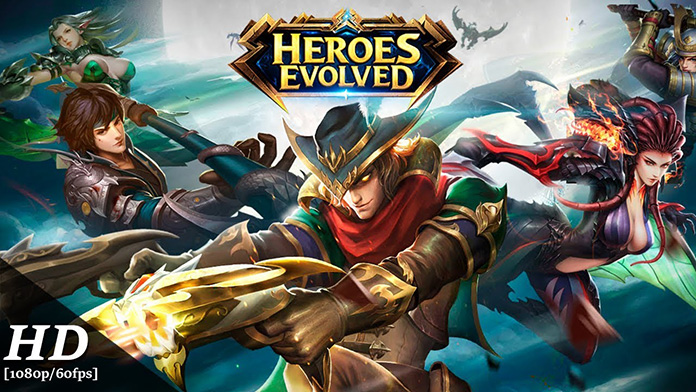 Game Moba Android Heroes Evolved