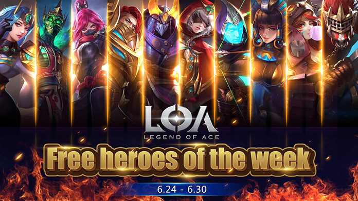 Game Moba Android Legend of Ace