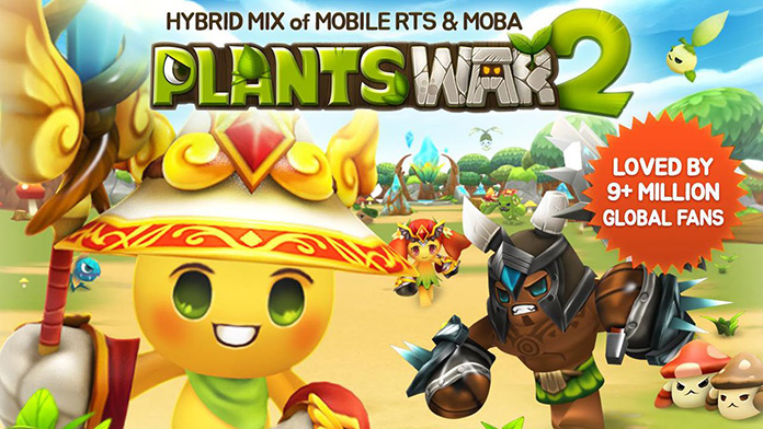 Game Moba Android Plants War