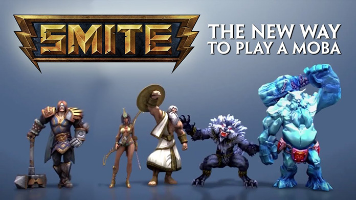 Game Moba Android Smite