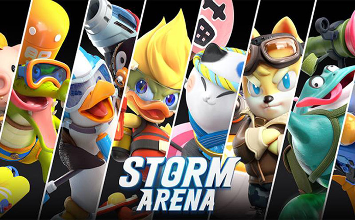 Game Moba Android Strom Arena