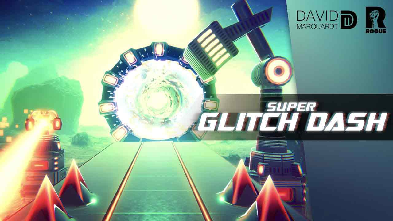 Super Glitch Dash Game Android Offline