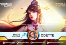 Build Odette Tersakit Mobile Legends