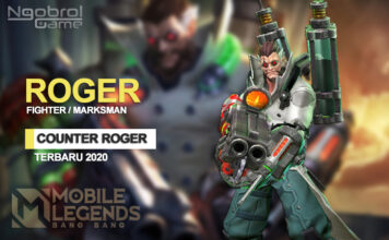 Cara Counter Roger 2020 Mobile Legends