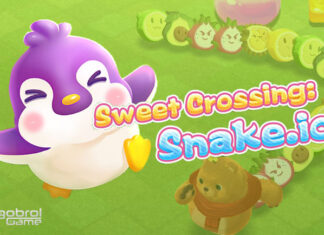 Review Sweet Crossing, Game Cacing Super Imut