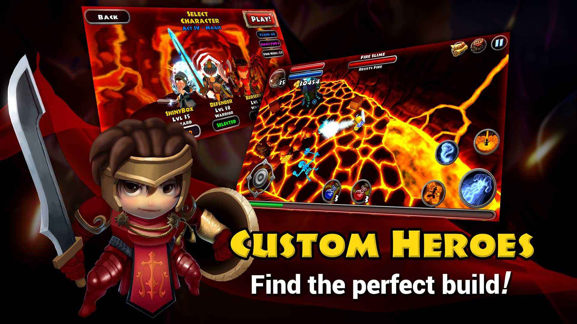 Dungeon Quest Game Moba Android Offline