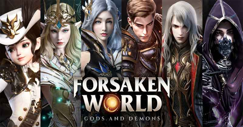 Forsaken World Gods & Demons Game MMORPG Android Terbaik 2021