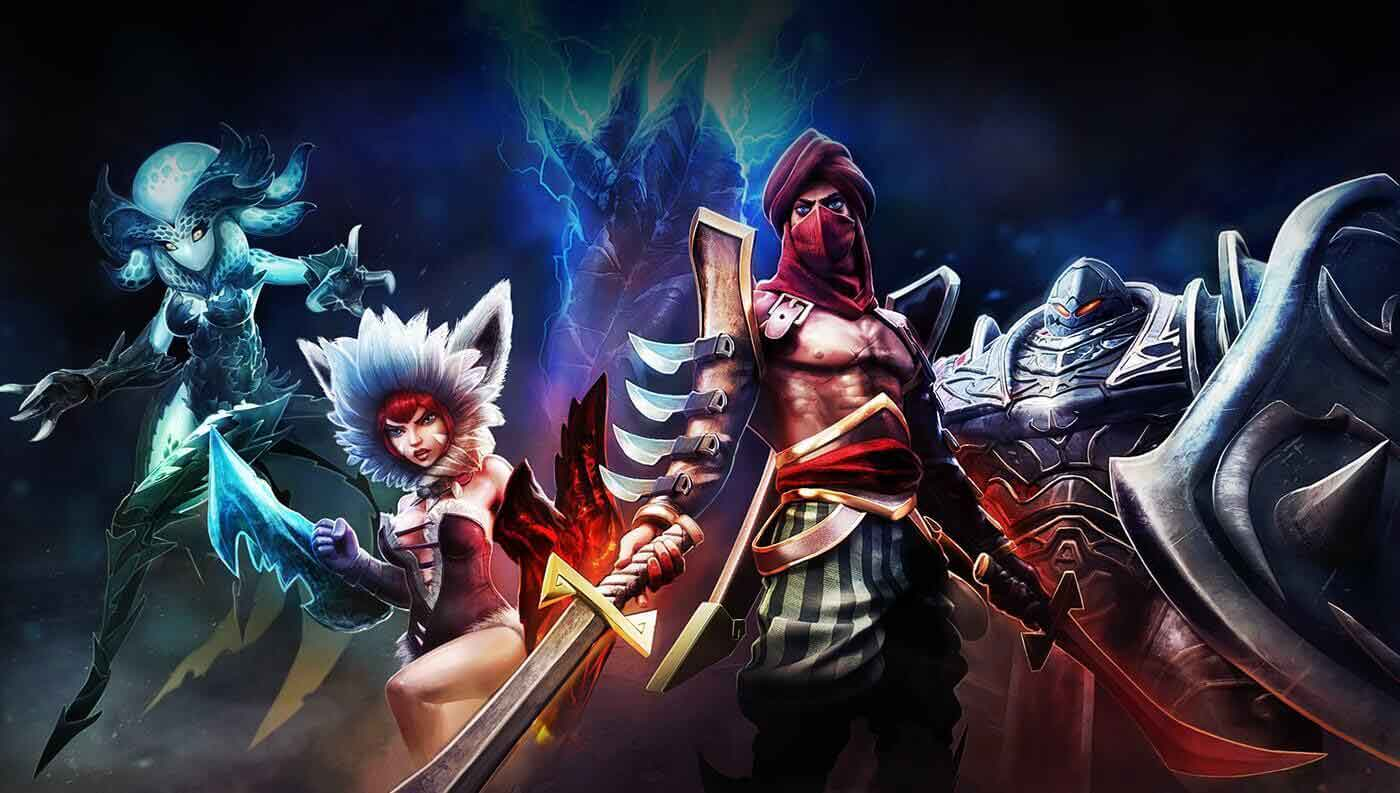 Heroes Of Order & Chaos Game Moba Android Offline