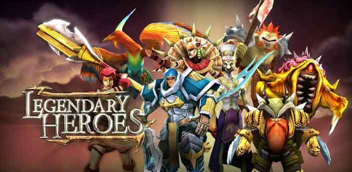 Legendary Heroes Game Moba Android Offline